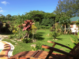 Lawn & Cottage View | Les Cottages de Bellevue Ecolodge | Port Vila, Vanuatu