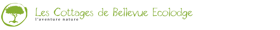 Les Cottages de Bellevue Ecolodge - Logo Full