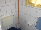 Chalet Bathroom | Lake Point Guest House | Lake Bosumtwi | Ghana