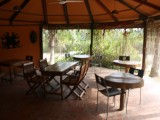 Restaurant Seating | Lake Point Guest House | Lake Bosumtwi | Ghana