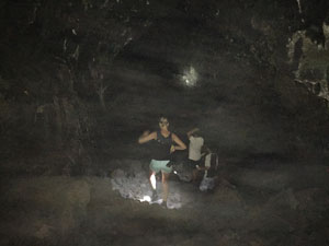 People in Cave