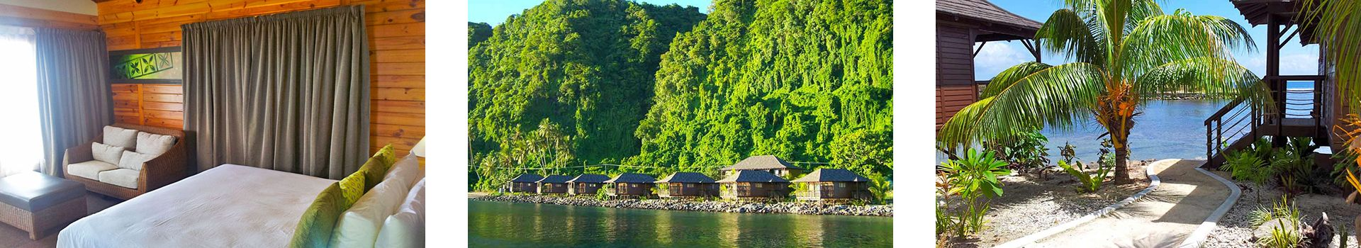 Waterfront Villas - Aga Reef Resort - Samoa