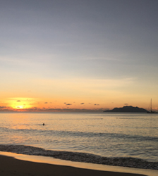 Sunset, Beau Vallon, Seychelles Sables d'Or Luxury Apartments