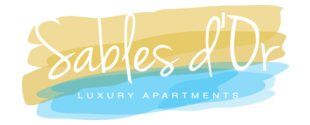 Sables d'Or Luxury Apartments - Logo Full