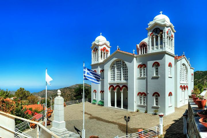 Big Church of Holy Cross - Pedoulas - Cyprus