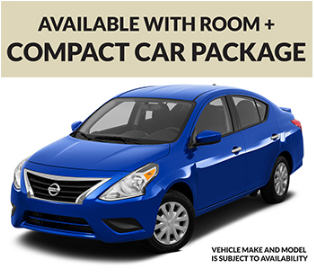 Room + Car Packages Available
