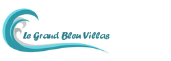 Le Grand Bleu Villas - Logo Full