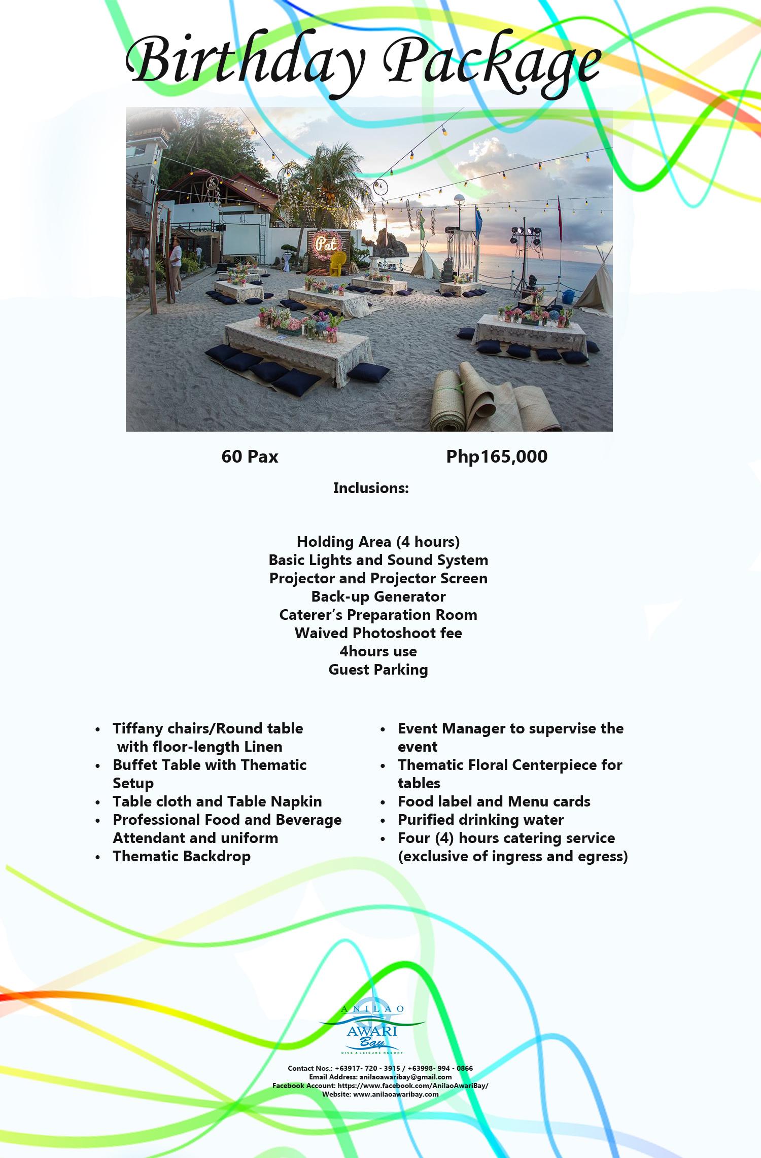Anilao Awari Bay | Packages
