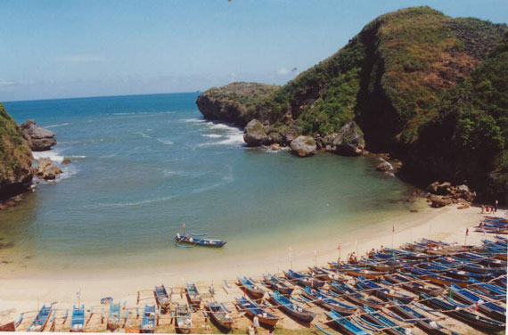 Beaches in Jogjakarta