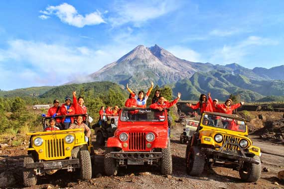 Merapi Mountain Lava Tour