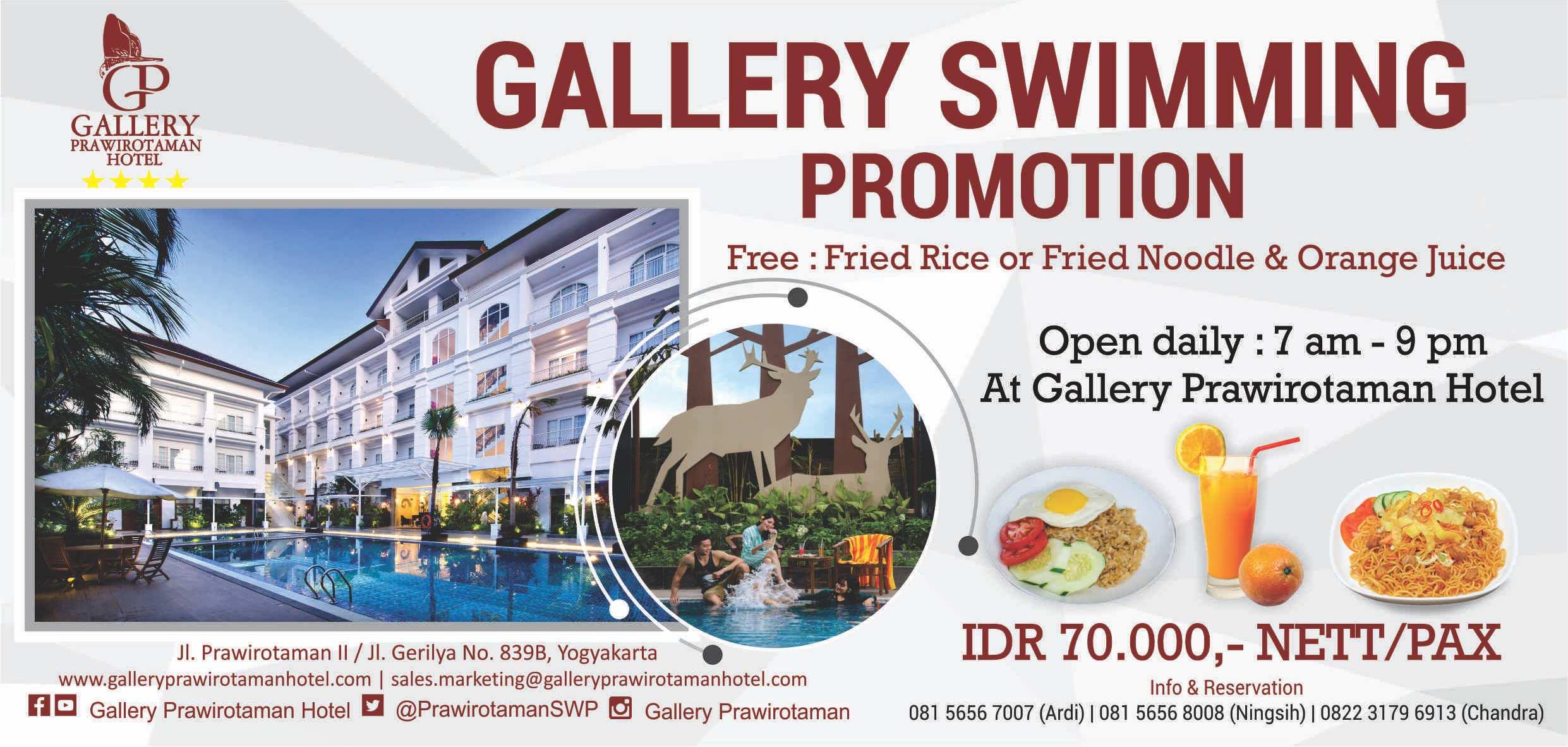 Mengintip sejenak Gallery Prawirotaman Hotel 1