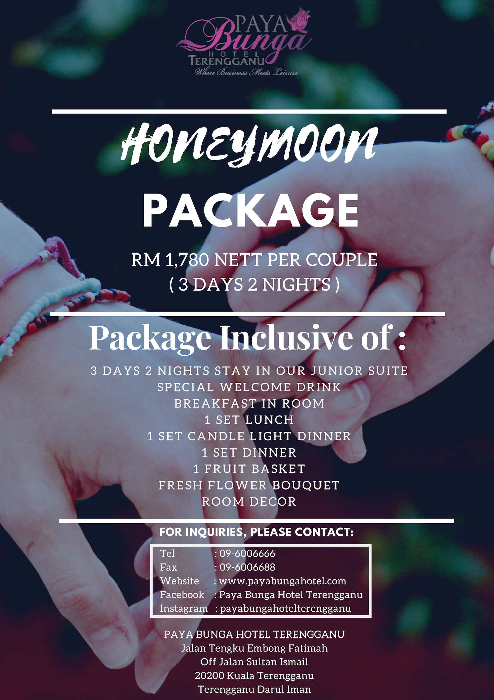 PB Honeymoon Package
