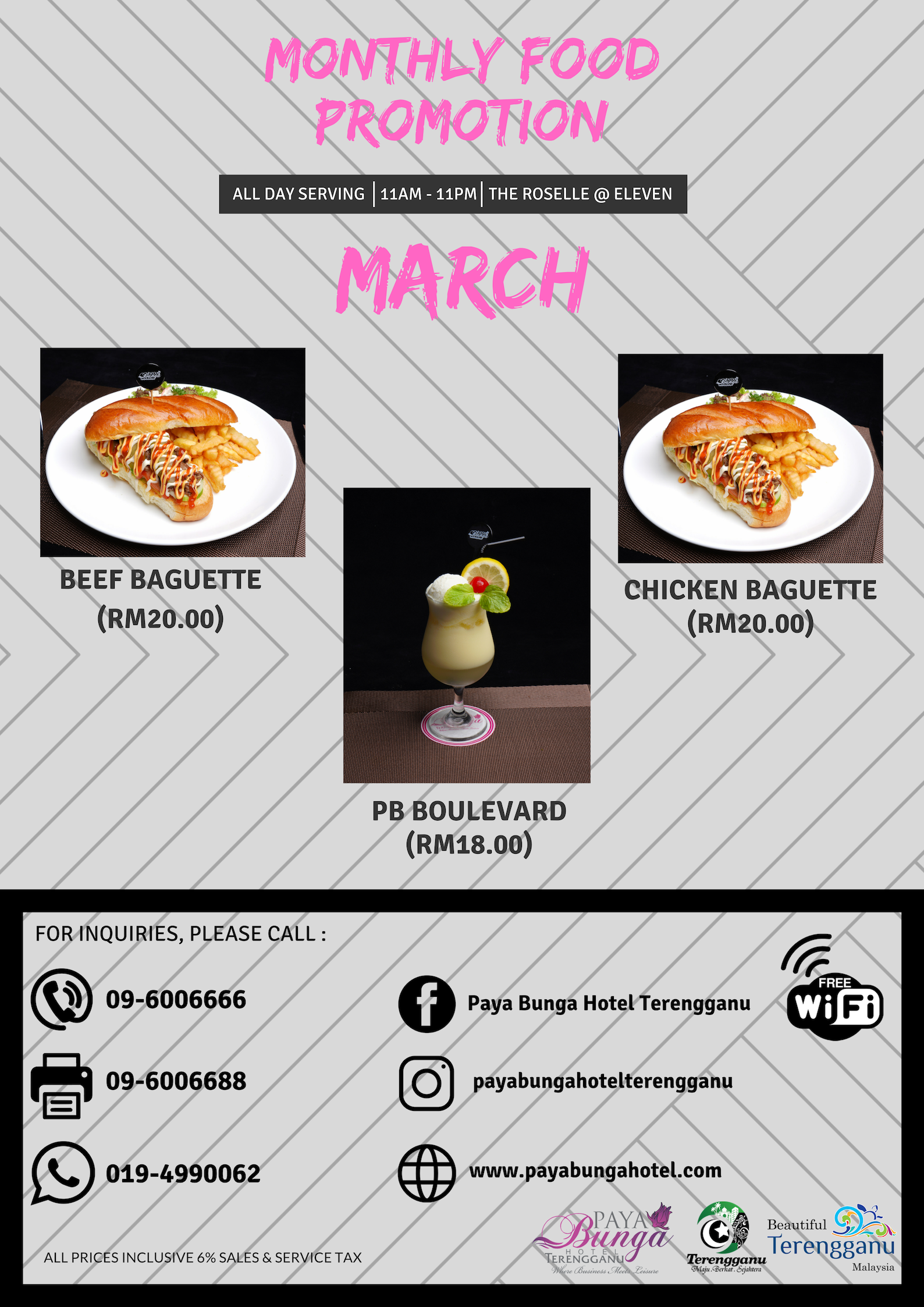 PB Monthly Food Promo