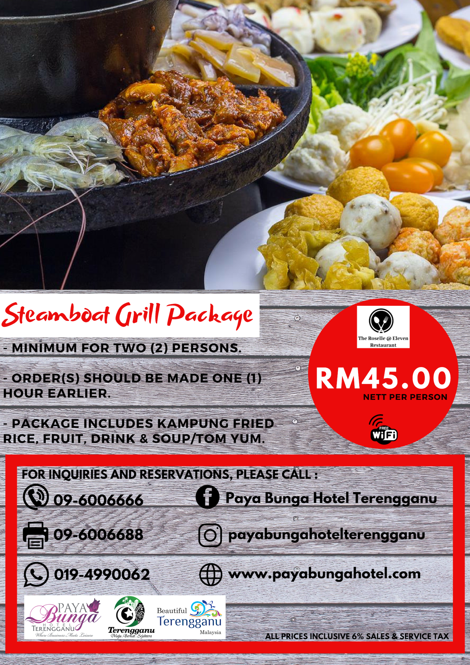 PB Steamboat Grill