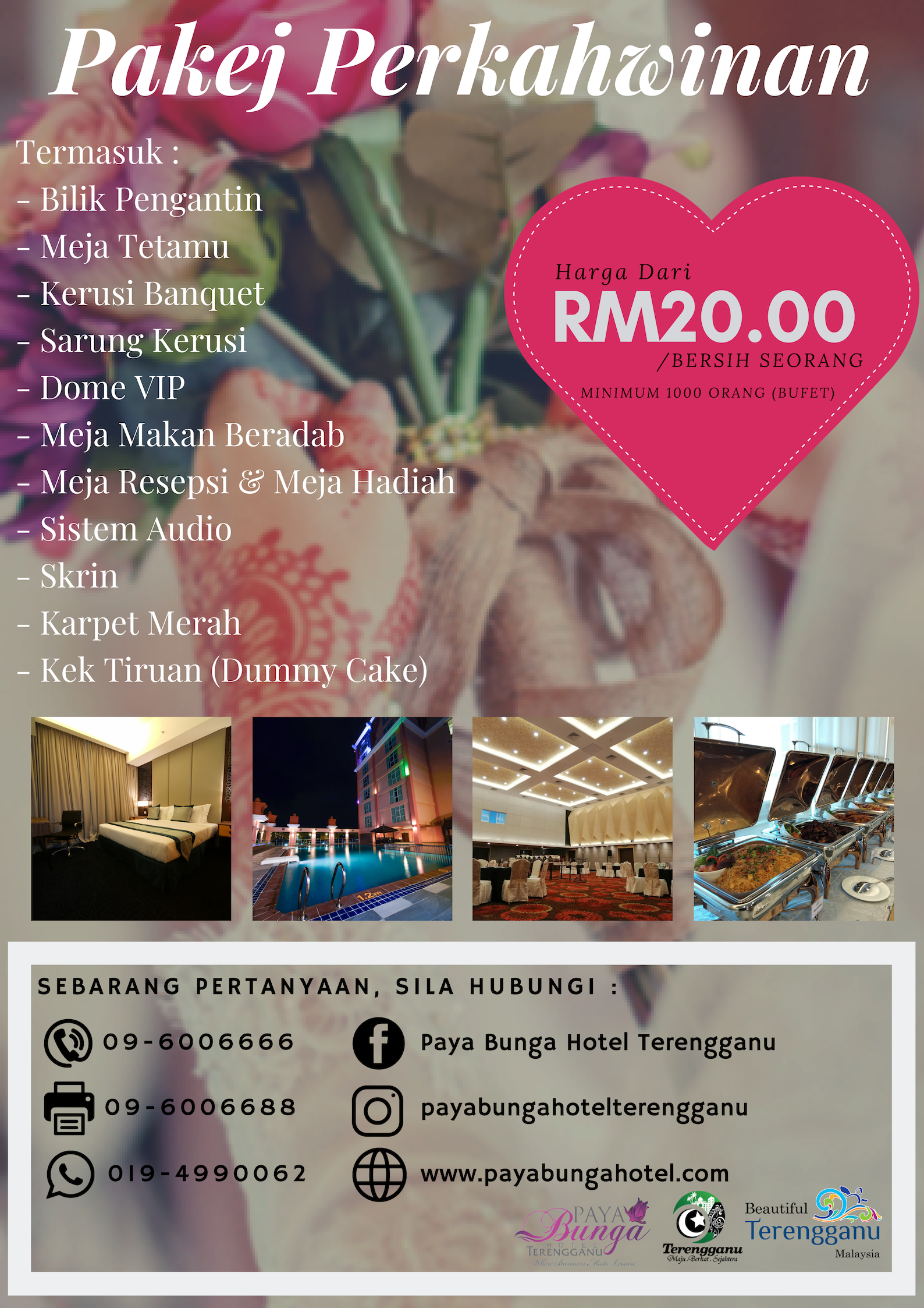 PB Wedding Package