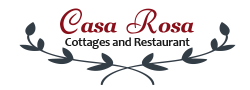 Casa Rosa Seaview Cottages and Restaurant - Logo Full