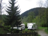 Campervan Campsite with panoramic views of Wildemann Berpension Haus Vogelsang