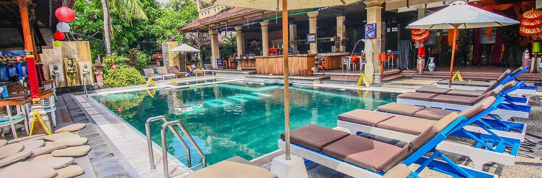 Legian Village Beach Resort Website Bali Hotel
