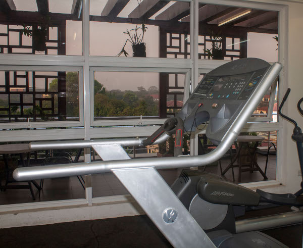 Gym | Saphire Court | Express Properties Apartments | Apartment Hotel | Cantonments | Ghana