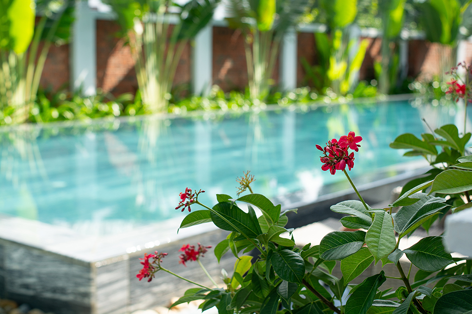 Swimming pool, The Cliff Boutique Village, Hoi An