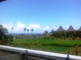 View From Verandah, Andy's Surf Villa And Bungalows, Canggu, Bali - Indonesia