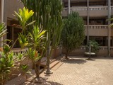 Courtyard | Radach Lodge and Conference Centre | Tamale, Ghana