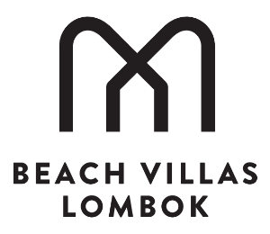 Beach Villas Lombok - Logo Full