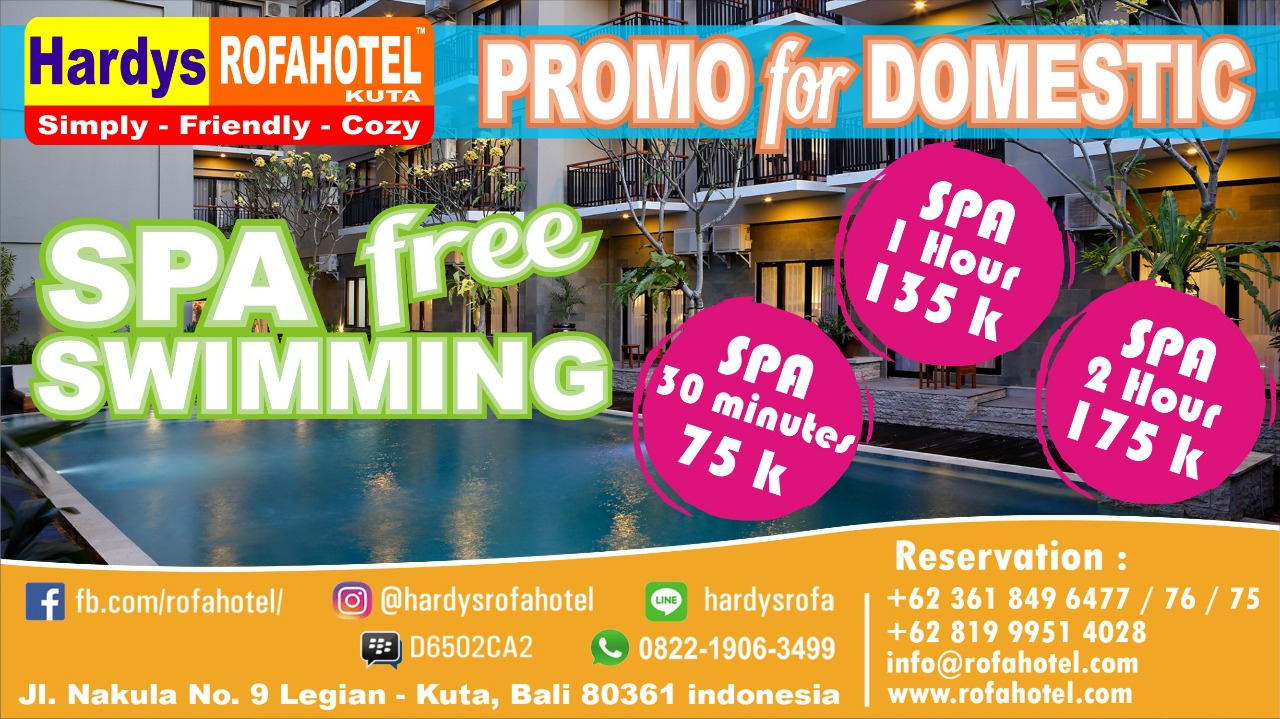 Spa Package Free Swimming