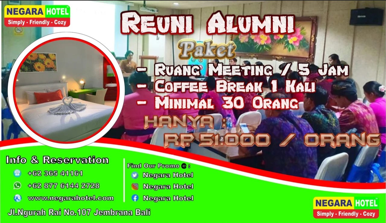 Promo Reuni Alumni Meeting Room 2019