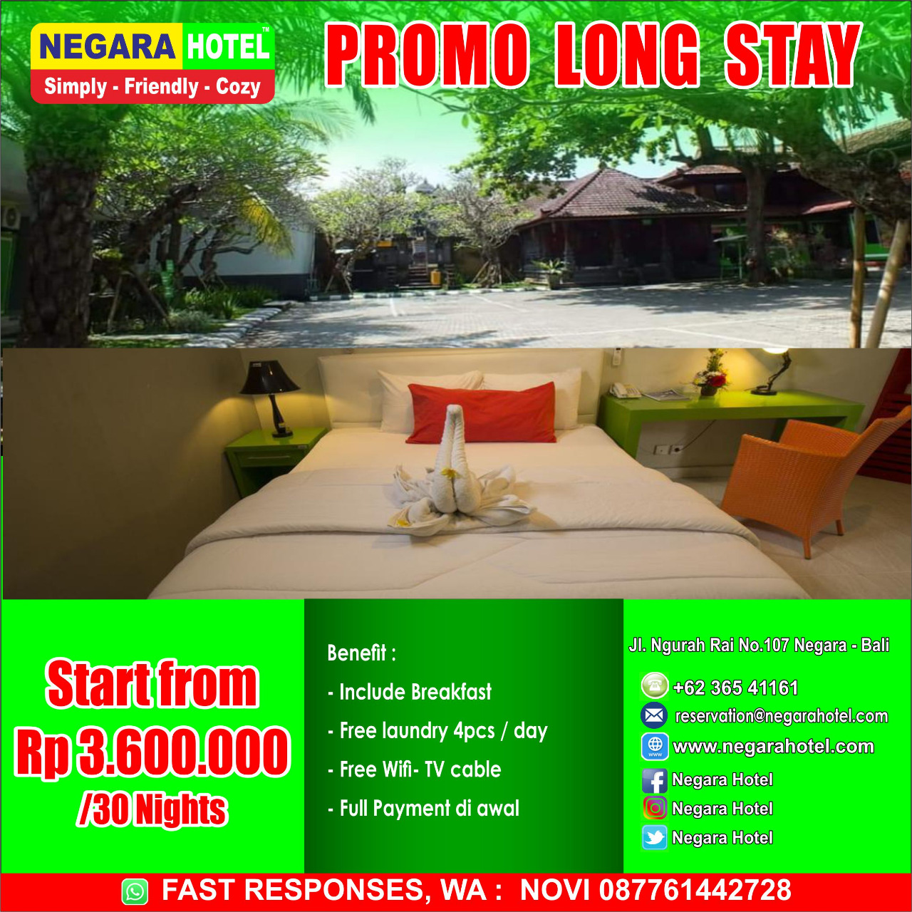 Promo Long Stay