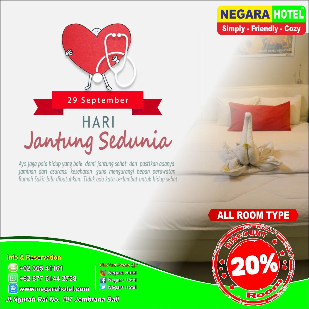 Promo Hari Jantung Sedunia