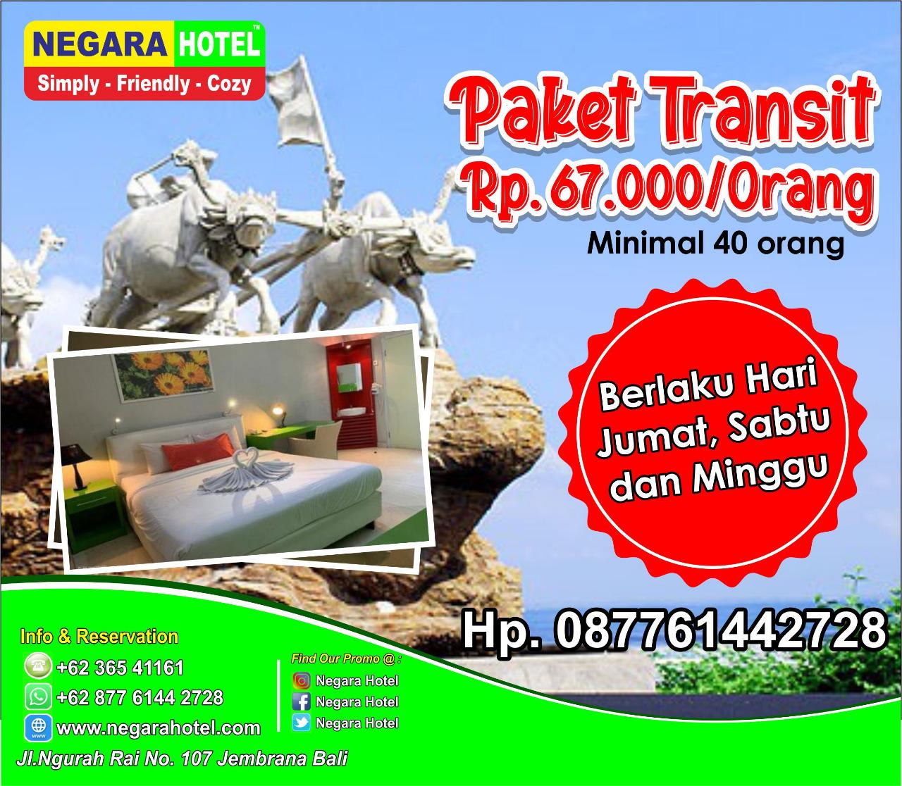 Promo Paket Transit
