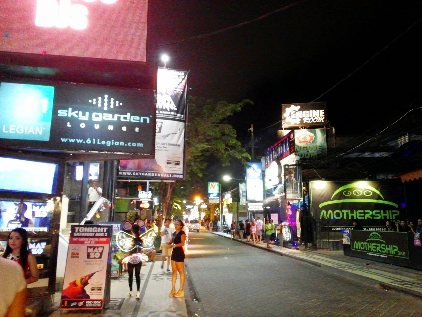 Nightlife Kuta