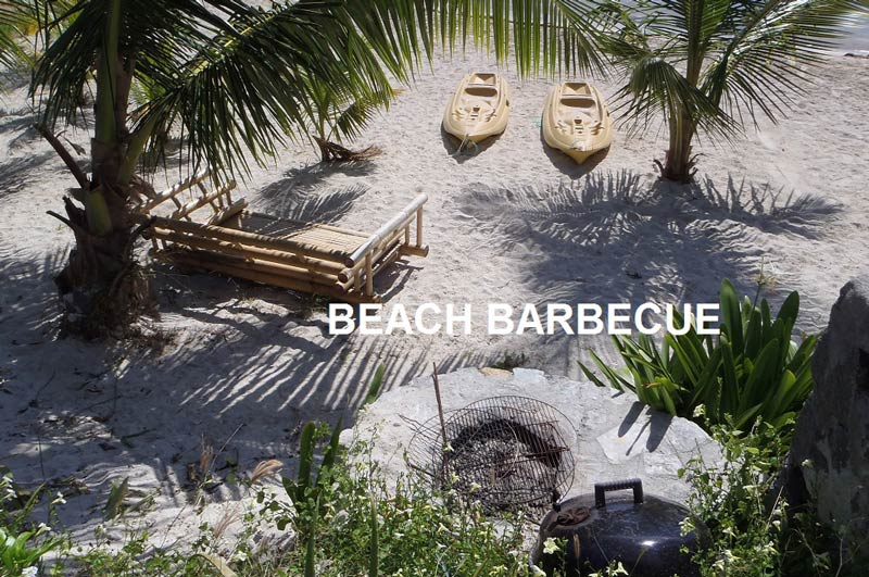 Beach Barbecue Area