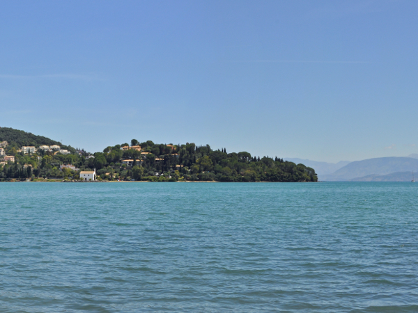 View from Gouvia Bay