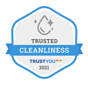 Trusted Cleanliness Badge