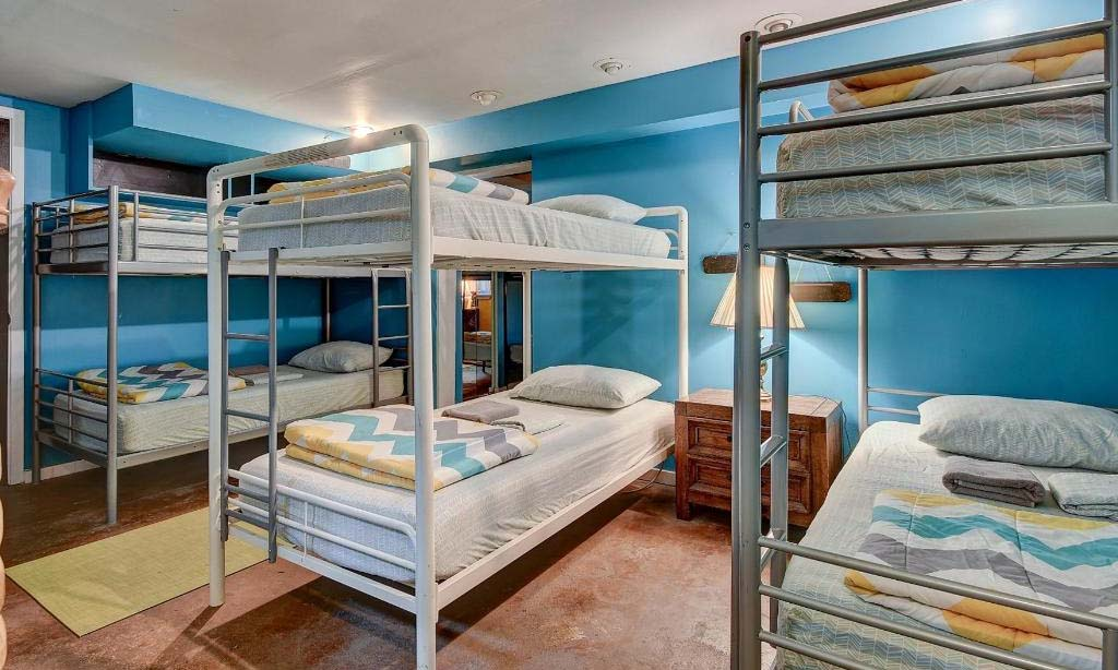 12 Bed Co-Ed Shared Dorm