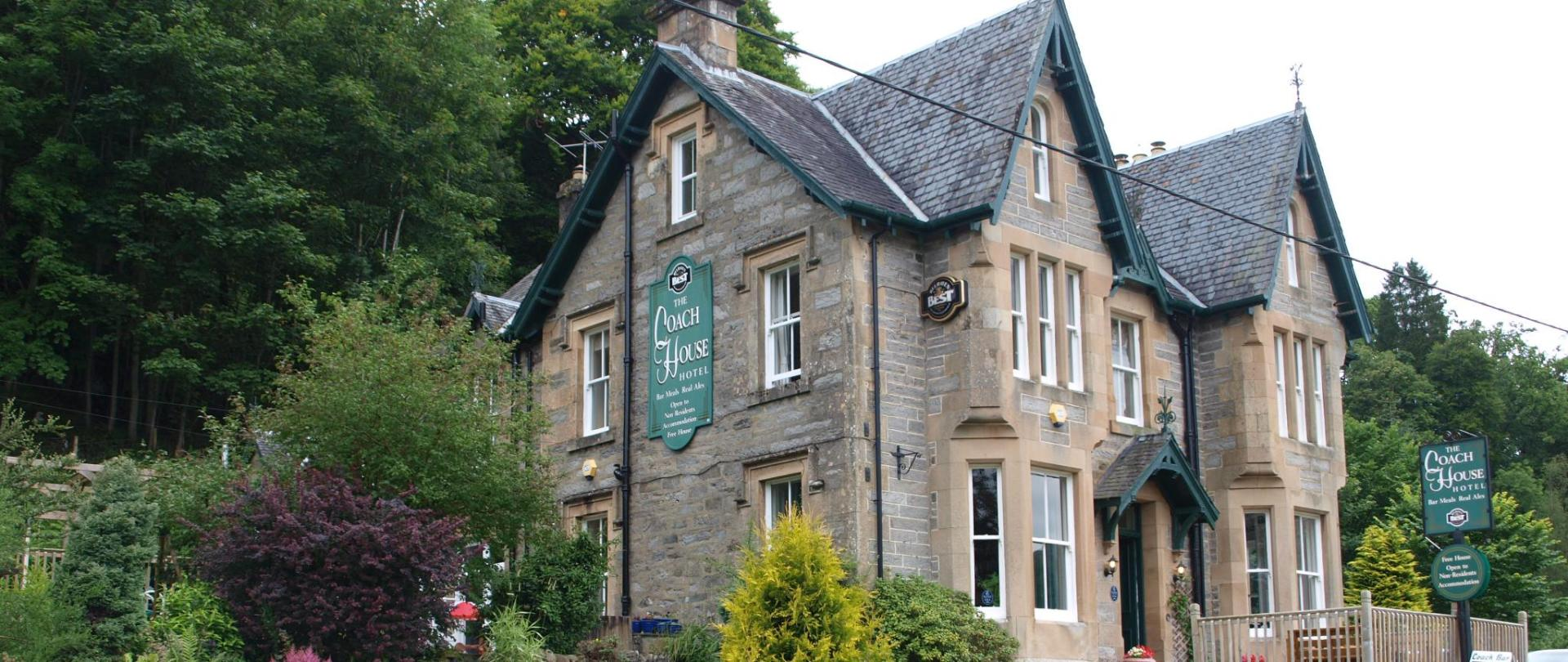 The Coach House Hotel - Banner