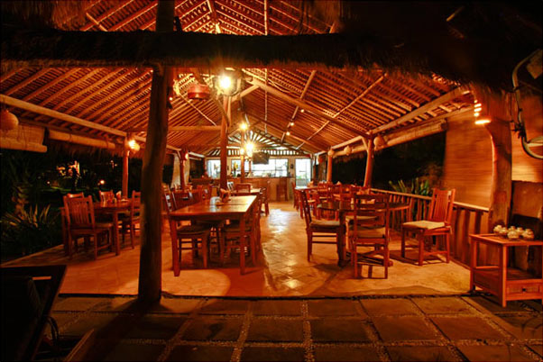 Restaurant of Flower Bud Bungalows