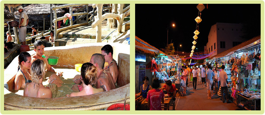 Mub bath & Night market