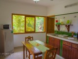 Kitchen & Seating Area - Villa Medea - Islander Guest House - Seychelles