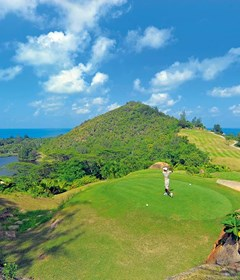 signature hole - lemuria golf club