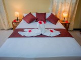 Double Bed in Room 1 | Georgina's Cottage Beach House | Seychelles