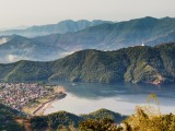 Fewa Lake viewed from Sarangkot | Pokhara, Nepal