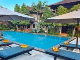 Swimming Pool, Puri Sading Hotel, Sanur, Bali - Indonesia