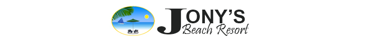 JONYS BEACH RESORT - Logo Full