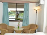 Standard Room with Patio - West Plaza Hotel by the Sea - Palau