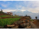 View from Ghandruk | Annapurna Treks | Nanohana Lodge, Pokhara
