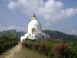 World Peace Pagoda | Pokhara Sightseeing Tour | Nanohana Lodge